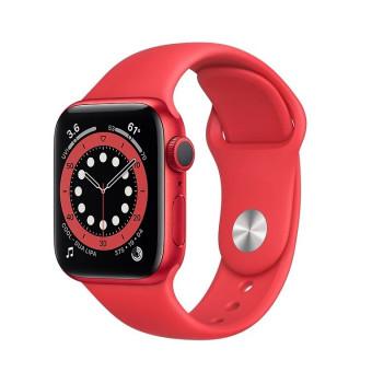 Умные часы Apple Watch Series 6 GPS 40 мм Aluminum Case with Sport Band красные по самой низкой цене