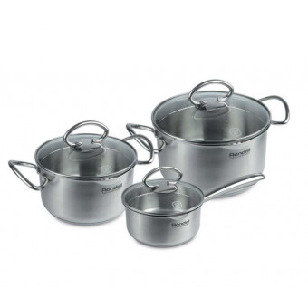 Набор посуды RONDELL Edel 0993-RD-01, 6 предметов за полцены
