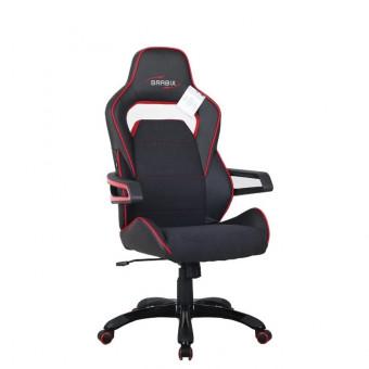 Игровое компьютерное кресло Brabix Nitro GM-001 в чёрно-красном цвете