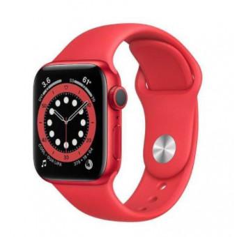 Смарт-часы Apple Watch Series 6 40мм, красный по выгодной цене