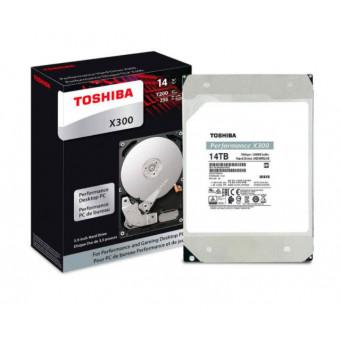 Промокод на жёсткий диск TOSHIBA X300 HDWR21EUZSVA 14ТБ