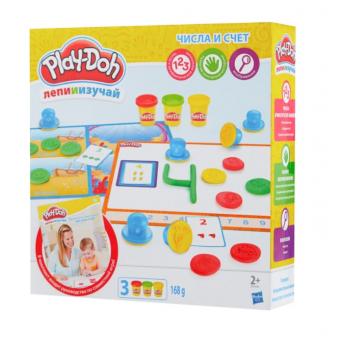 Наборы для лепки Play-Doh со скидкой, например, Play-Doh Цифры и числа