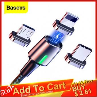 Подборка зарядных кабелей Baseus на распродаже 11.11 на AliExpress