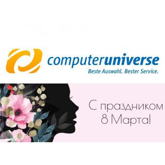 Computeruniverse - скидка 10€ от 79€ по промокоду