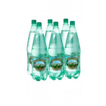 Минеральная лечебно-столовая вода Нарзан натуральной газации, ПЭТ, 6 шт. по 1.8 л по хорошей цене