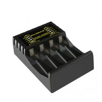 Зарядное устройство PUJIMAX для 4 аккумуляторов типа АА/ААА по отличной цене