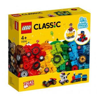 Конструктор LEGO Classic 11014 Кубики и колёса по самой низкой цене