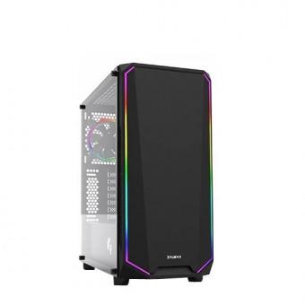 Стильный компьютерный корпус Zalman K1 чёрный по крутой цене