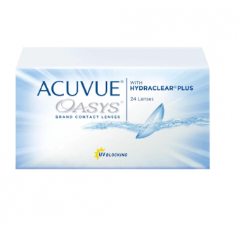 Acuvue OASYS with Hydraclear Plus (24 линзы), R 8,4, D -3,25 вполцены