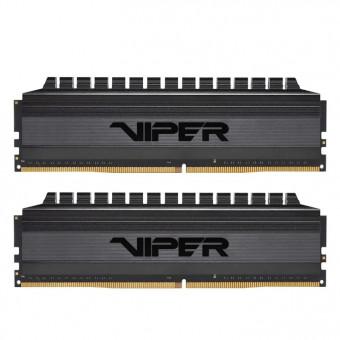 Оперативная память Patriot Memory VIPER 4 BLACKOUT 8GBx2 DDR4 3000MHz PVB416G300C6K по самой выгодной цене