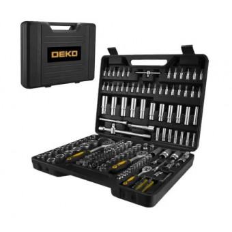 Набор ручного инструмента DEKO для автомобиля, 172 предмета (065-0217) по классной цене