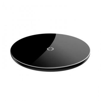 Беспроводная сетевая зарядка Baseus Simple Wireless Charger в чёрном цвете со скидкой