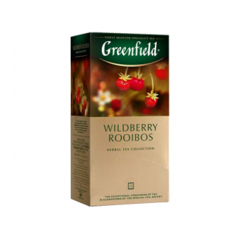 Чай черный Greenfield Wildberry Rooibos 25*1,5г  по самой низкой цене