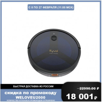 Робот-пылесос Vantop Kyvol D6