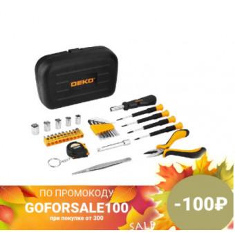 Набор инструментов для дома DEKO TZ32 в чемодане 32 предмета по выгодной цене