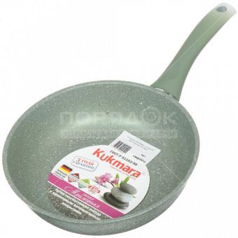 Сковорода с антипригарным покрытием Kukmara Мрамор