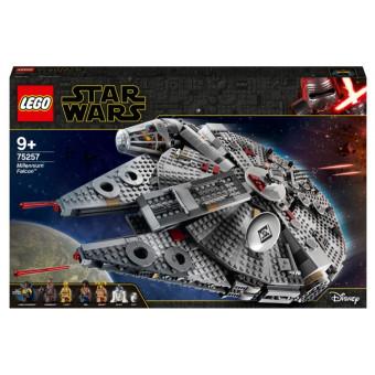Конструктор LEGO Star Wars 75257 Episode IX Сокол Тысячелетия по отличной цене