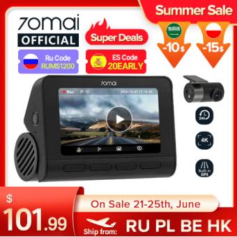 Видеорегистратор 70mai 4K A800S по отличной цене