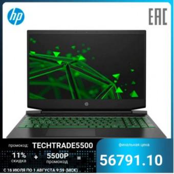 Ноутбук HP Pavilion Gaming 15-ec1058ur по выгодной цене