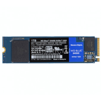 SSD накопитель WD Blue SN550 WDS100T2B0C 1Tb по приятной цене