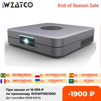 DLP DMD проектор Wzatco D1 с выгодой 1900₽