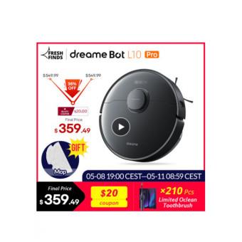 Роботы-пылесос Dreame Bot L10 Pro по классной цене