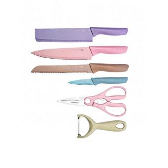 Мегаскидка 80% на набор кухонных ножей!