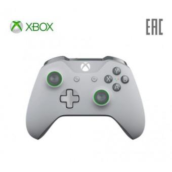 Геймпад беспроводной Microsoft Xbox Grey-Green (WL3-00061) по суперцене