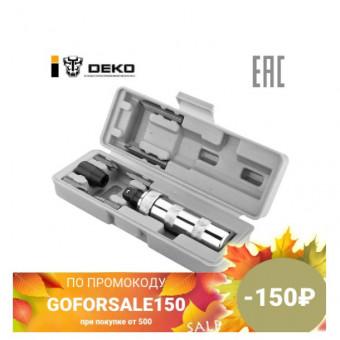 Ударная отвёртка DEKO IK7 с набором бит в кейсе, 7 предметов по хорошей скидке