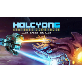 Получаем Halcyon 6: Starbase Commander в EpicGames