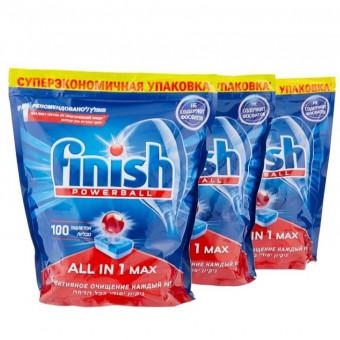Таблетки Finish All in 1 Max для посудомоечной машины, 300 шт. по отличной цене