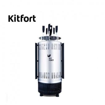 Хорошая электрошашлычница Kitfort KT-1405 по скидке на AliExpress Tmall