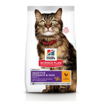 Скидка на сухой корм для кошек Hill's Science Plan и Pro Plan Delicate