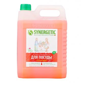 Антибактериальный гель для мытья посуды Synergetic Сочный арбуз по низкой цене