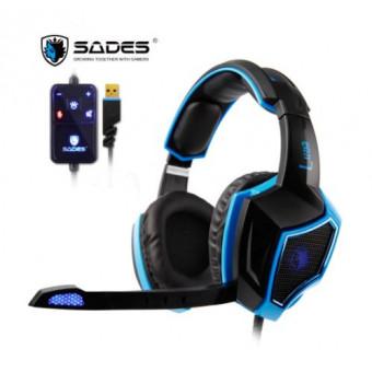 Игровая компьютерная гарнитура Sades LUNA по отличной цене