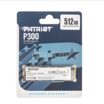 Качественный SSD накопитель PATRIOT P300 P300P512GM28 512ГБ по скидке
