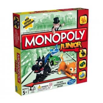 Настольная игра Monopoly Моя первая Монополия с низким ценником