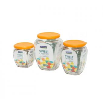 Glasslock Набор банок для сыпучих продуктов IG-674 3 шт по низкой цене