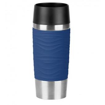 Термокружка Emsa Travel Mug Waves, 0,36 л Blue (N2010900) по отличной цене