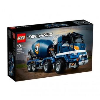 Два набора LEGO со скидками, например, Technic 42112 Бетономешалка