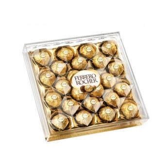 набор конфет Ferrero Rocher из молочного шоколада, с начинкой из крема и лесного ореха, 300 грамм по самой низкой цене