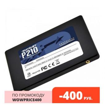 Твердотельный накопитель Patriot 256Gb P210 P210S256G25 по хорошей цене