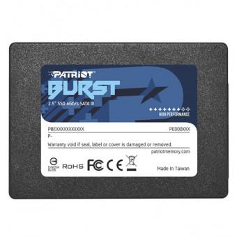 Твердотельный накопитель SSD Patriot Memory Burst 960 GB PBU960GS25SSDR по приятной цене