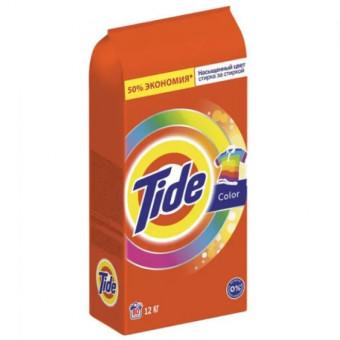 Стиральный порошок Tide автомат Color 80 стирок 12 кг по низкой цене