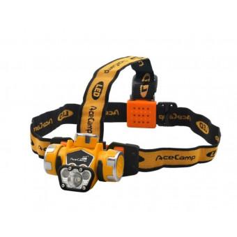 Налобный фонарь ACECAMP Extreme, оранжевый / черный, 1Вт [1035] по выгодной цене