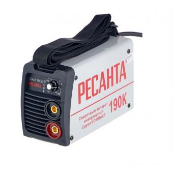 Сварочный аппарат инверторного типа РЕСАНТА САИ-190К MMA по низкой цене