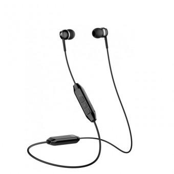 Беспроводные наушники с микрофоном Sennheiser CX 150BT чёрные по скидке