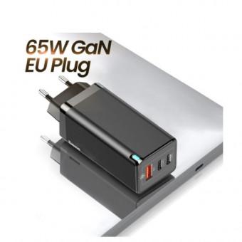 Зарядное устройство Baseus GaN 65W по скидке на распродаже AliExpress