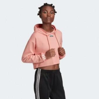 Укороченная худи R.Y.V. по классной цене и в розовом цвете