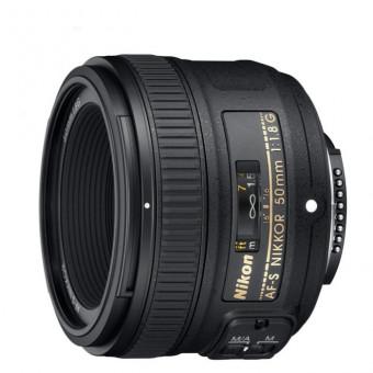 Объектив Nikon 50mm f/1.8G AF-S Nikkor по крутой цене в М.Видео